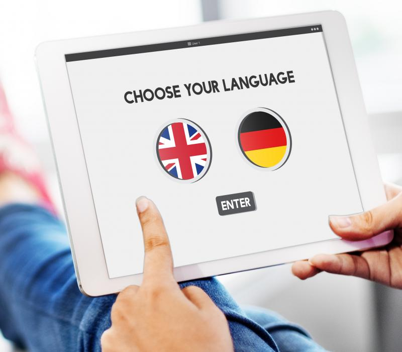 Digital Marketing in English oder in Deutsch