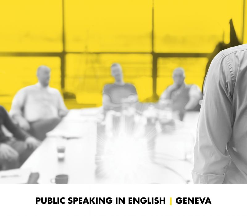 Nouveau Speed Learning | Public Speaking in English